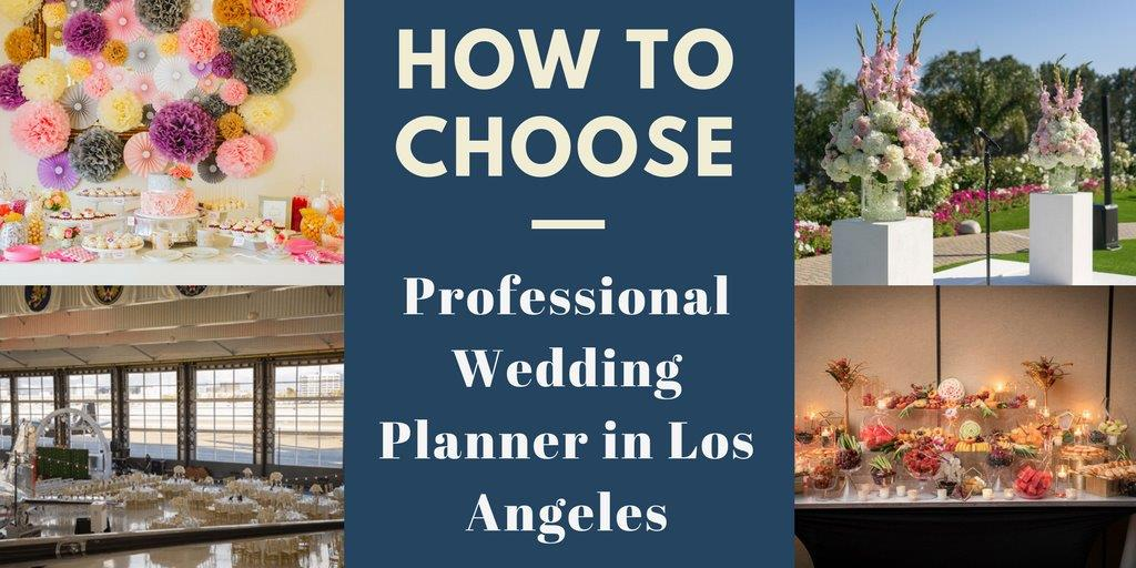wedding planner in Los Angeles