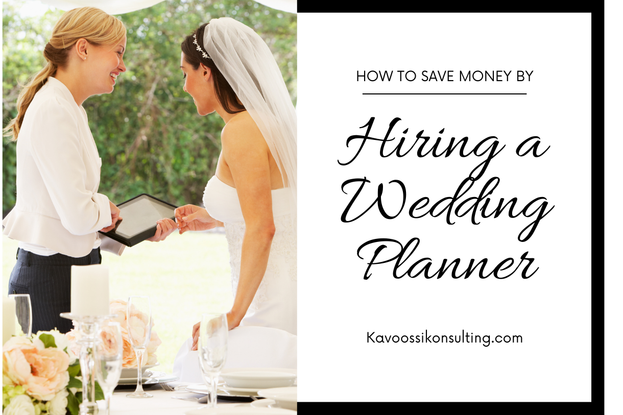 How to Save Money by Hiring a Wedding Planner